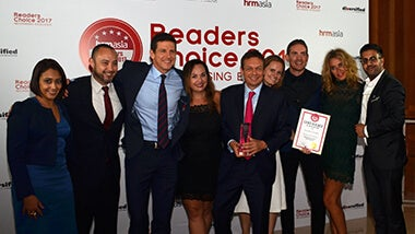 HRM Asia Readers Choice 2017 award winners